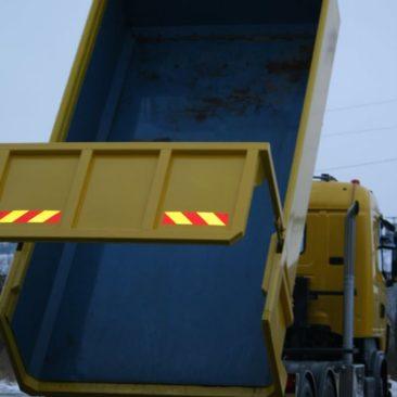 На кузов нанесено полимерное покрытие для защиты