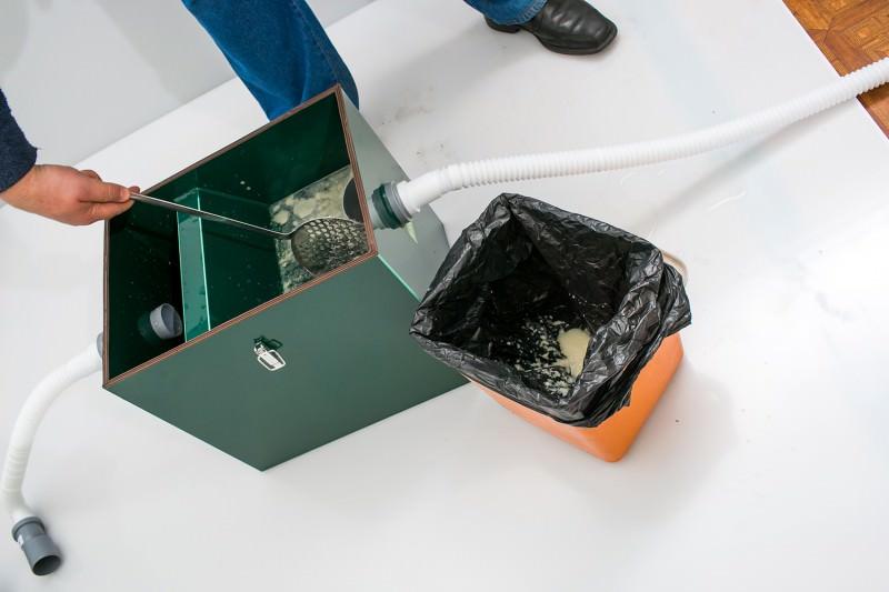 Очистка с помощью шумовки